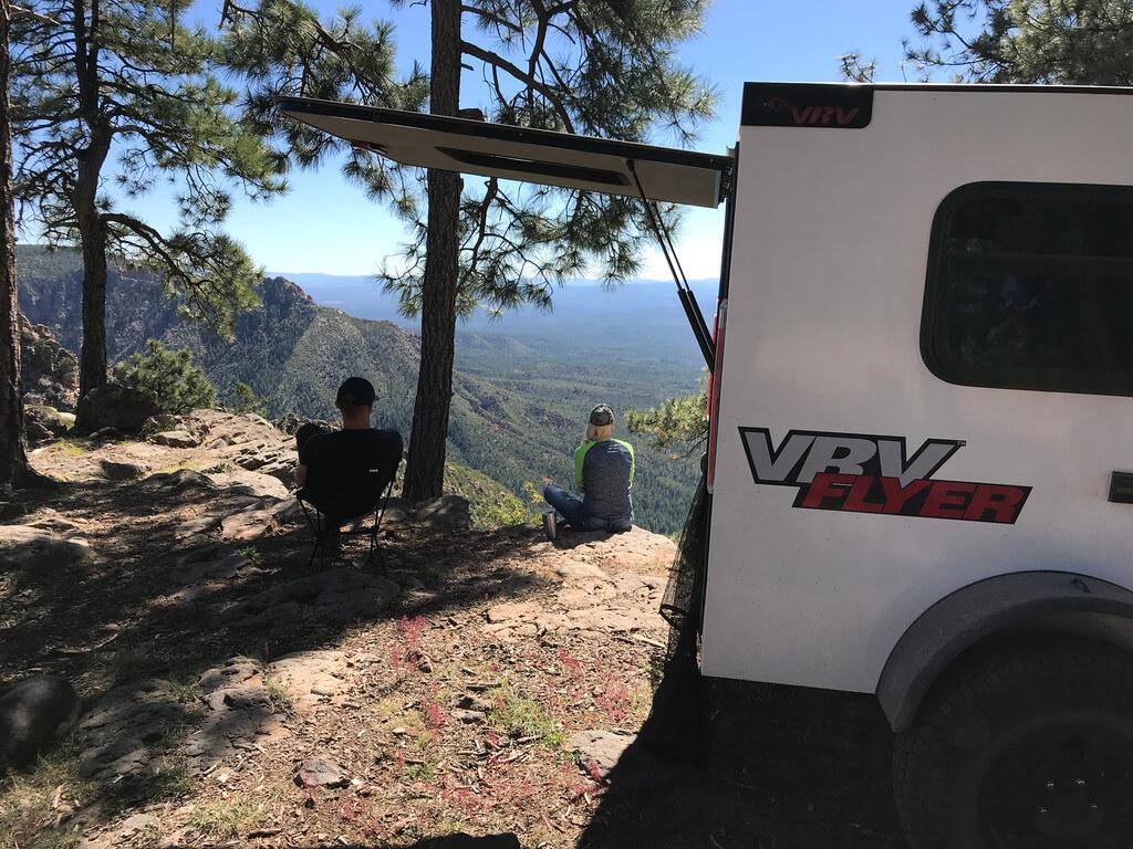 Our VRV Flyer Teardrop - Introduction - 4X Overland Adventures