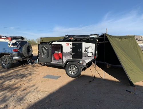 Our Off Grid Trailer DIY Modifications