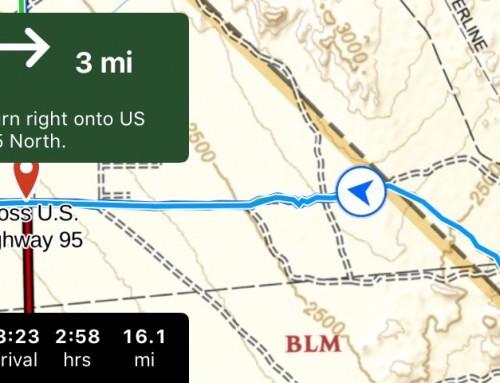 Gaia GPS with Apple CarPlay Now Available