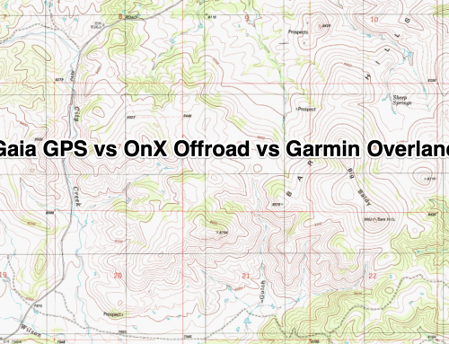 We Compare Gaia GPS to OnX Offroad and the Garmin Overlander GPS