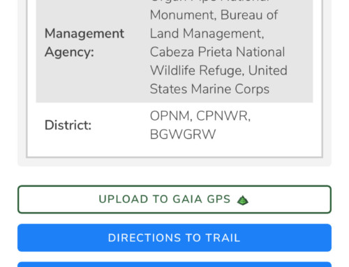 Trails Offroad Now Offers Easy Integration with Gaia GPS