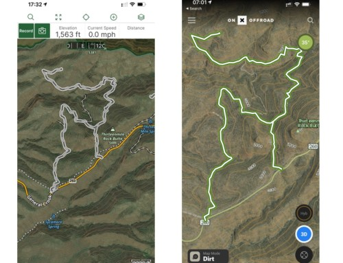 Gaia GPS vs OnX Offroad Review